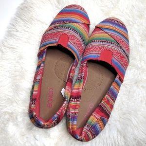 🌴 BONGO Boho Slip-on shoes